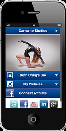 Express app dance competition sample Platinum Edge Media