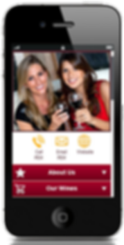 Express app Winery sample Platinum Edge Media