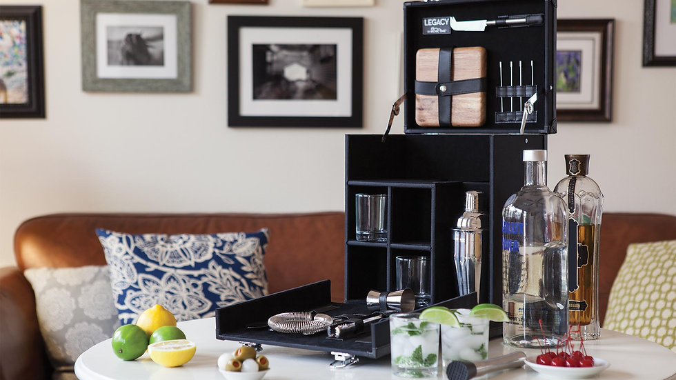 HAMILTON TRAVEL BAR – BLACK