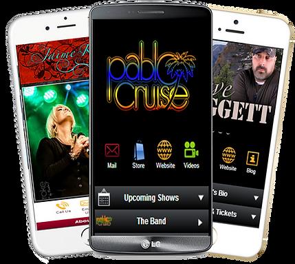 Express app entertainer, band pablo cruz jaime kyle daggett sample Platinum Edge Media