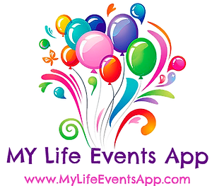 My Life Events App Logo- Platinum Edge Media