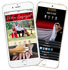 Signature app My life events apps sample Platinum Edge Media