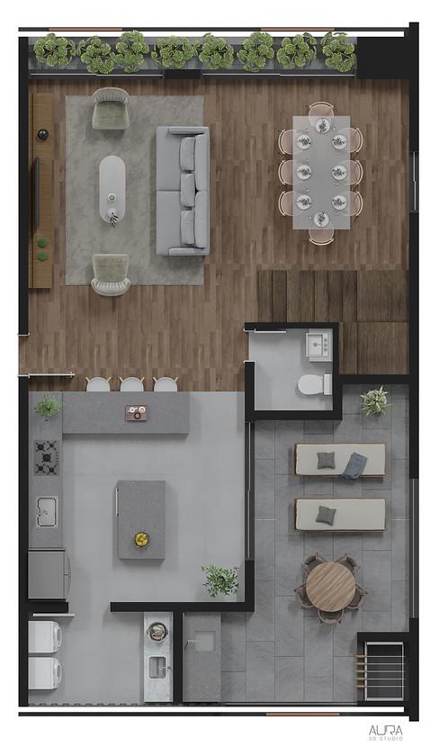 Duplex premium inferior