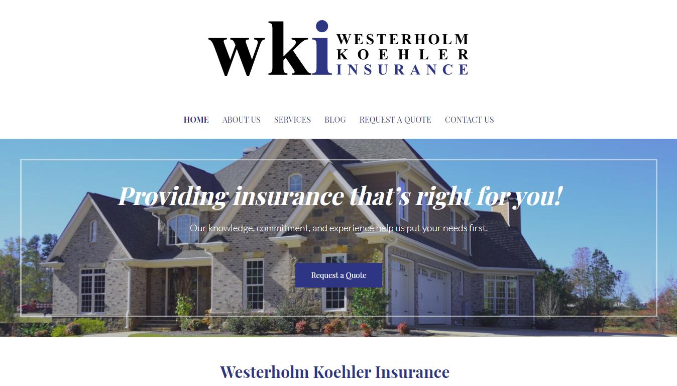 Westerholm Koehler Insurance