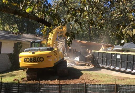 DeKalb Demolishes Home At 'Ground Zero' Site To Begin Sewer Spill Fixes