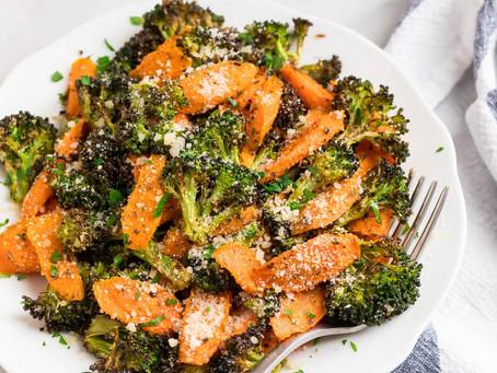 Roasted Broccoli + Carrots