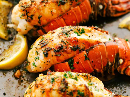 Brolied Lobster Tails