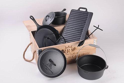 Preseasoned Cast Iron Cookwear Set