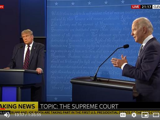 Biden Scores 14-Point Lead Over Trump in Poll After Debate