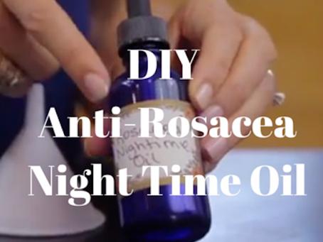 Anti-Rosacea Night Time Oil