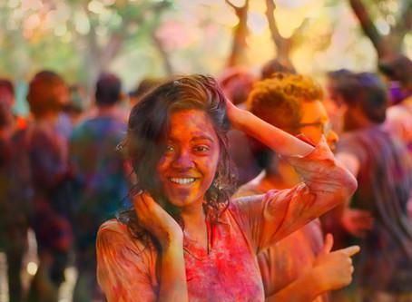 Holi - The Festival of Colours!