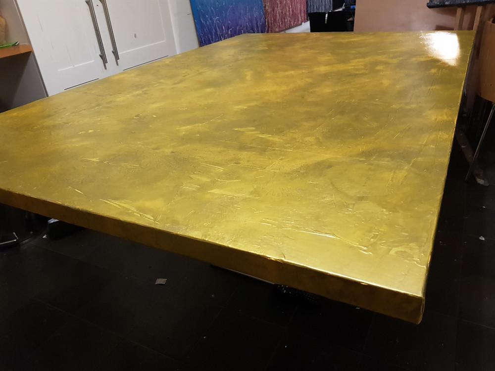 underpainting base coat canvas texture