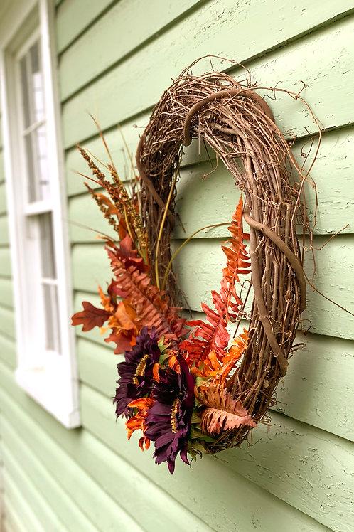 Fall Byzantium Wreath