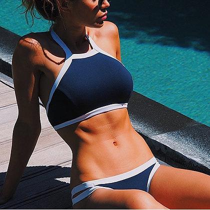 Bikini halter marine