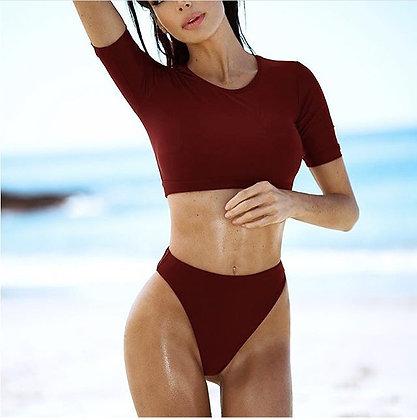 Bikini cami solido