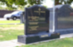 Picture of headstone.