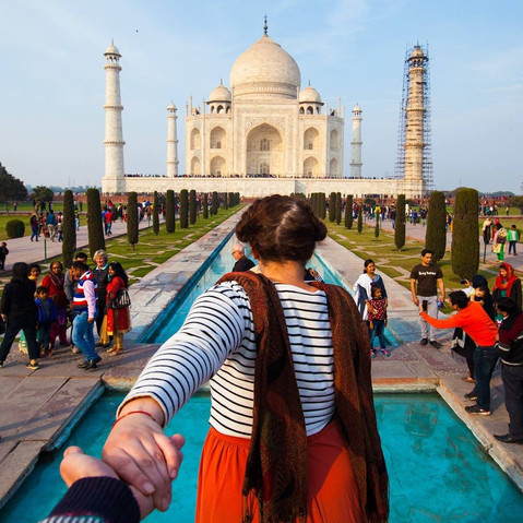 Nika takes India