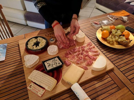 The French don't muck around with cheese.