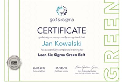 Live Zoom LEAN SIX SIGMA GREEN BELT