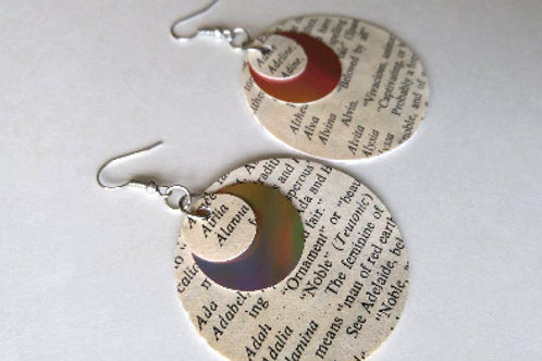 Life Triple Circle Earrings