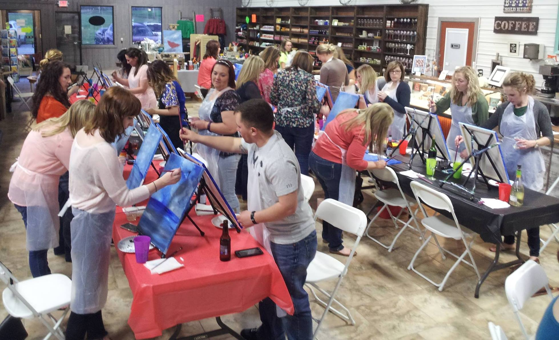 Paint & Sip (2nd Thursday of Month)