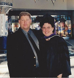 RENEE REUTER AND MIKE REUTER, GRADUATION FROM ST LOUIS UNIVERSITY SCHOOL OF LAW