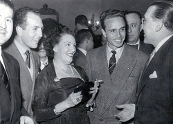 1953. CR con Pedro y Manín