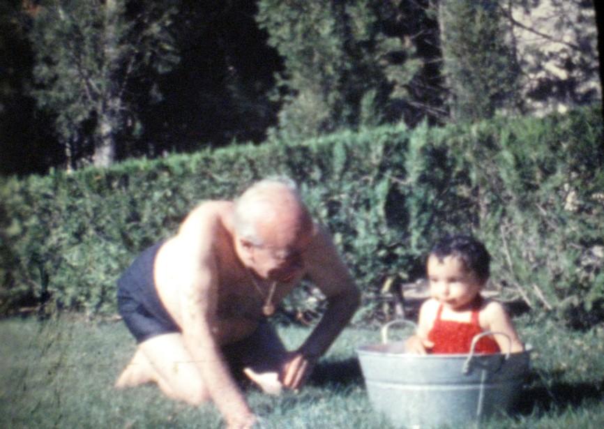1958. CJD con Rosa Rábago