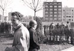 1955.Inauguración Clínica.con el tío Carlos