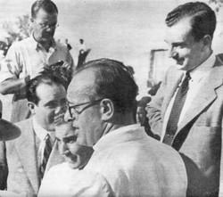 1946. CJD con Antonio Bienvenida
