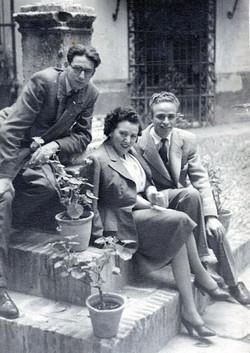1948. CR con Yoyo y Manín