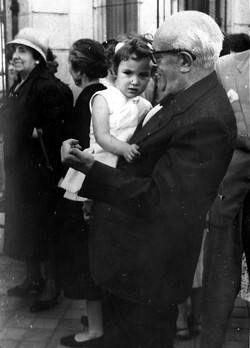 1959. CJD con Marta Jiménez