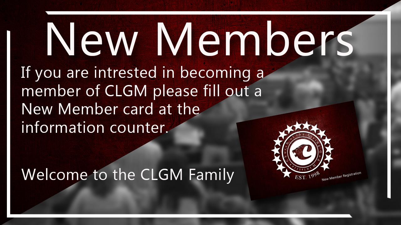 new members slide