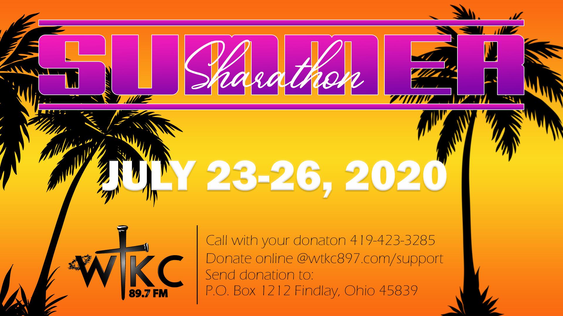 Summer Sharathon 2020
