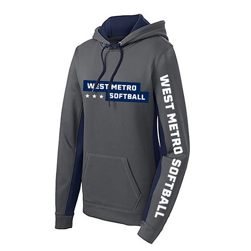 West Metro Hoodie - Dark Smoke Grey