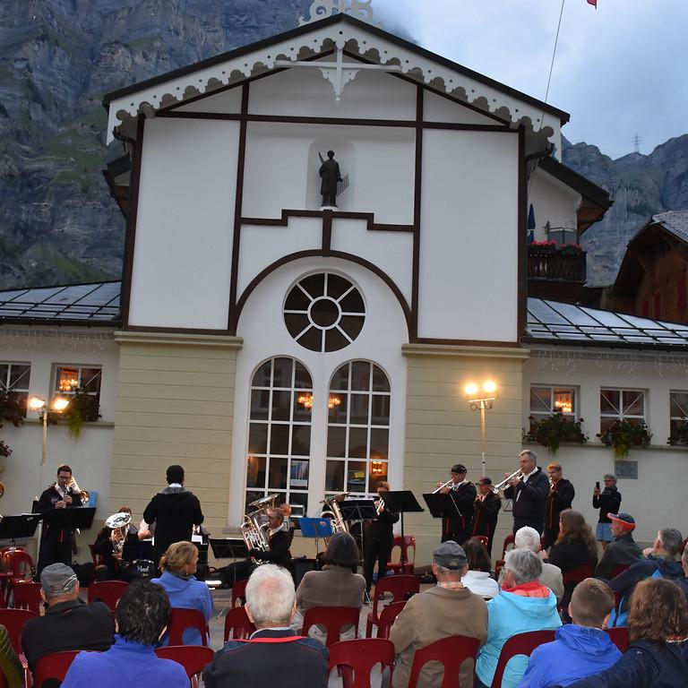 Dorfplatzkonzert in Leukerbad