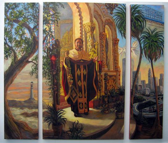 Father Bakas Painting