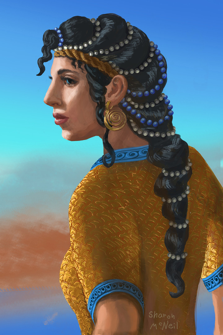 Character Study of Minoan Dancer