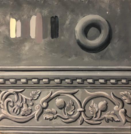 Sample for frieze technique