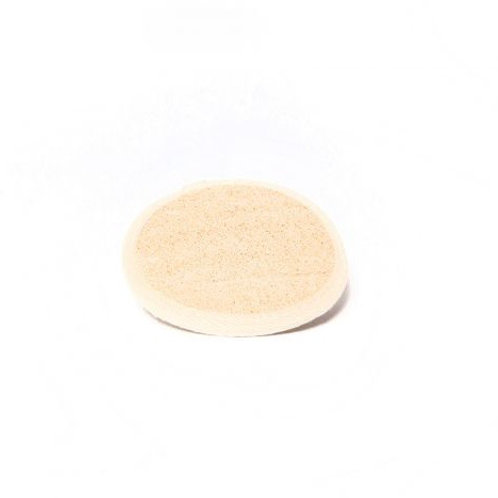 """3"""" Round Loofah Pad w/ Terry Back"""