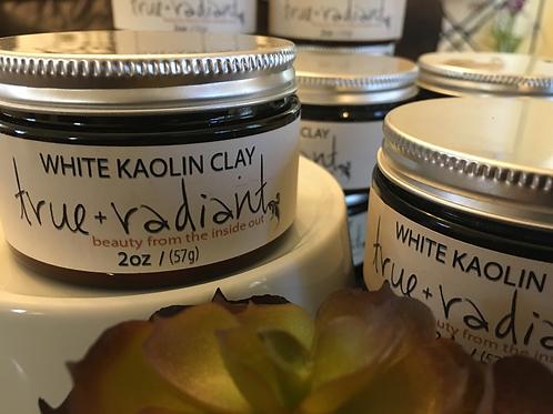 White Kaolin Clay Mask