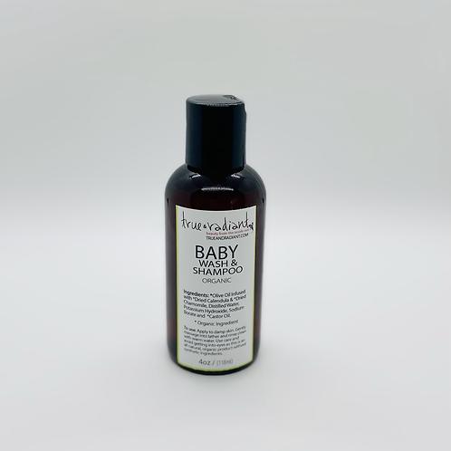 Organic Baby Shampoo Body Wash