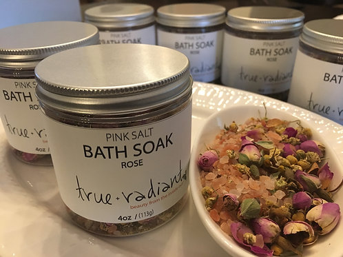 Pink Salt Bath Soak