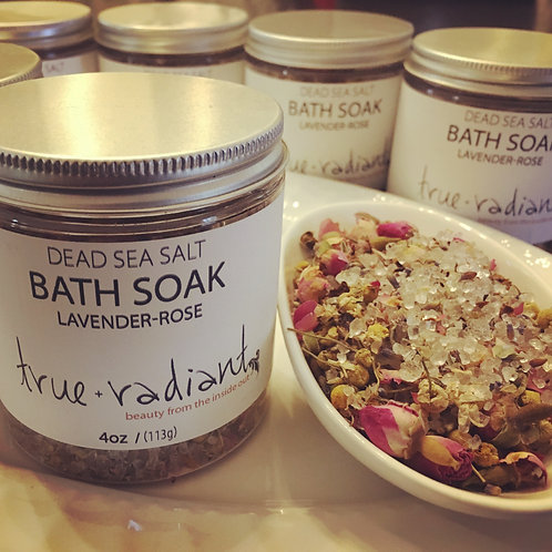 Dead Sea Salt Bath Soak