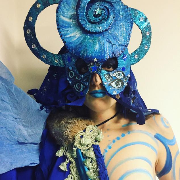 the Divine Feminine (Blue)