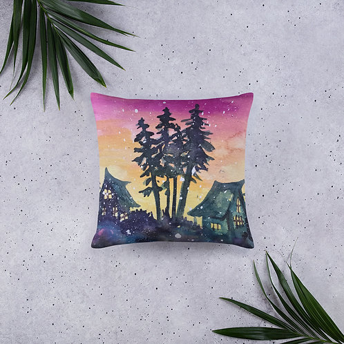Sunset Pines Pillow