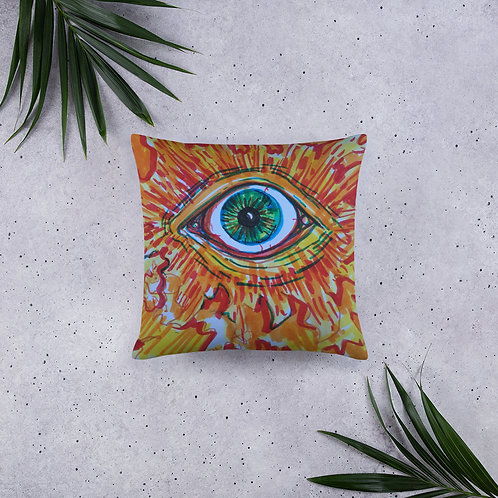 Eye of Fire Pillow
