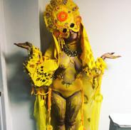 the Divine Feminine (Yellow)
