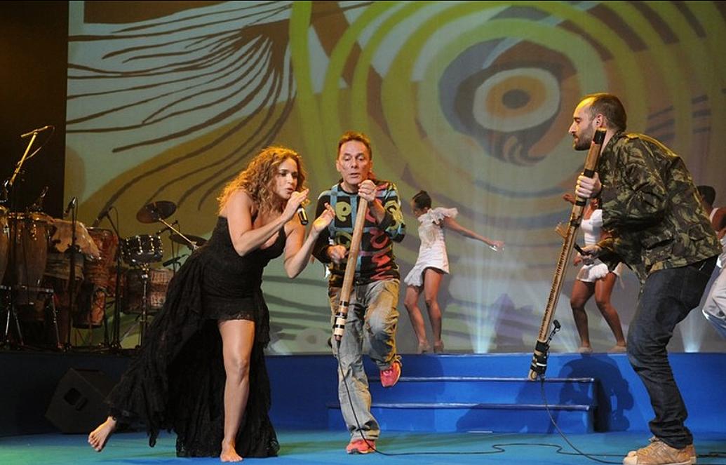 Daniela Mercury, Ruca e Pedro Coquenão
