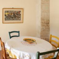 Table dans la cuisine
